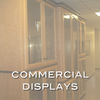 custom retail displays by handmade custom woodwork atlanta