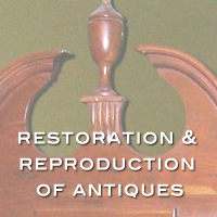 antiques restoration by handmade custom woodwork atlanta