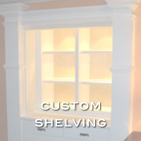 custom wood shelves by handmade custom woodwork atlanta
